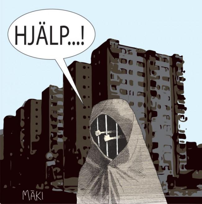 Burkaförbud u2013 Vara eller inte vara Ledarsidorna se
