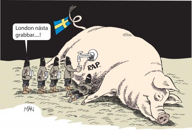 Så agerar regeringen för att Sverige skall vara en säker hamn för terrororganisationer