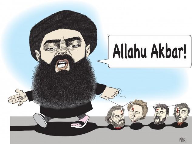 IS ledare Abu Bakr al-Baghdadi  död - Europas problem har bara börjat