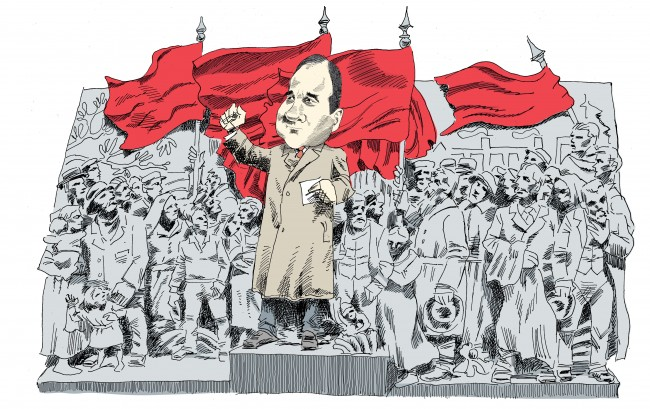"""Socialdemokraterna är på väg att göra en """"Corbyn"""" genom konflikterna i SSU"""