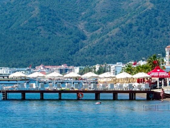 Ett Marmaris tomt på turister. Foto: Helene Bergman