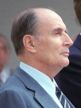 Francois Mitterand. Bild: Wikipedia