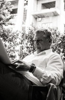 Johan Westerholm i Beirut. Foto: Ali Mohamadani