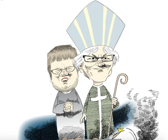 Svenska kyrkan en allt mer politisk och aktivistisk kraft där religionen kommer i andra hand