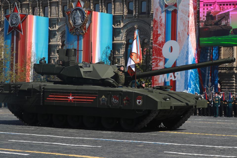 Ryska forband kartlagda