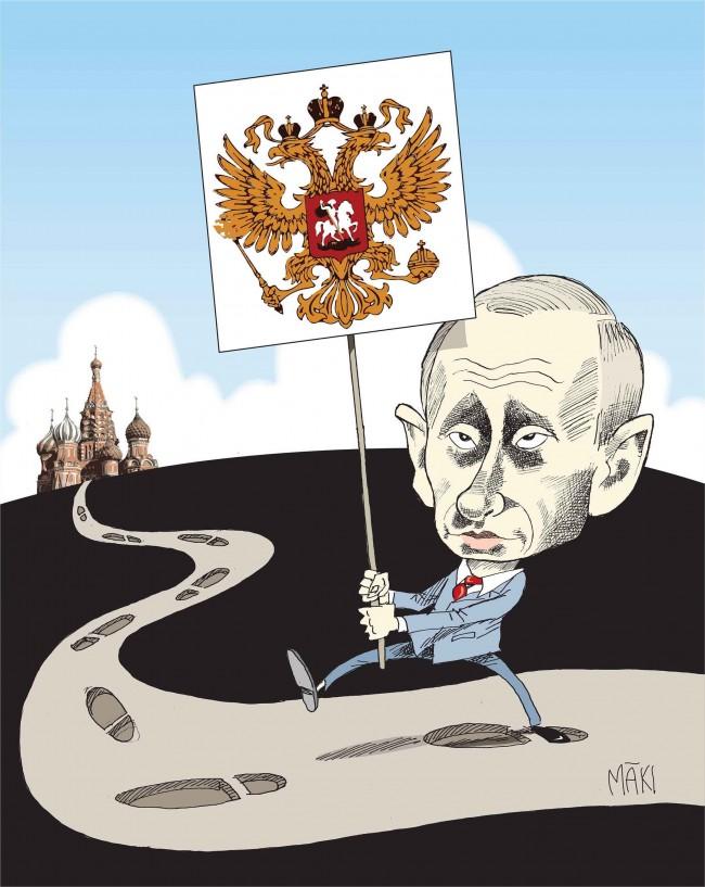 Ett EU ur balans försöker skylla på Vladimir Putin