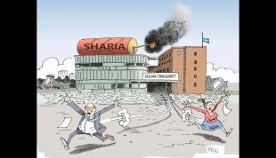 Islamistiska domslutet i Solna - de politiska partierna visste. Stubinen är tänd