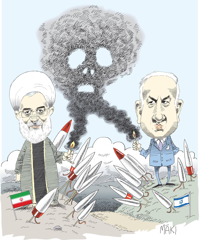 Schori vill oka pressen pa iran