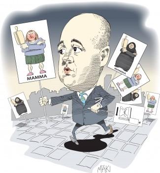 "Fredrik Reinfeldts ""Trygghetskommission"" driver på för enklavisering av Sverige"