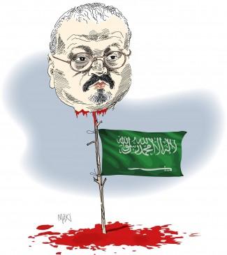 Jamal Khashoggis öde - en parentes i historien om historien