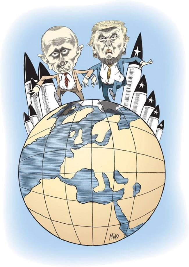 INF, Donald Trump och tredje världskriget
