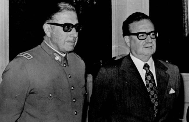 Allende och Pinochet - ett drama i tre akter