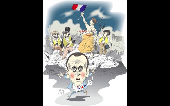 Valdet sprider sig over frankrike