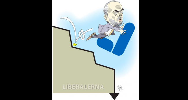 Liberalernas historiebeskrivning en fråga för väljarna att besluta om