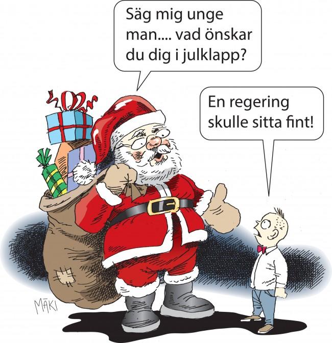 Talmannen ger riksdagen ledigt över jul - men glömmer vad väljarna förtjänar i julklapp