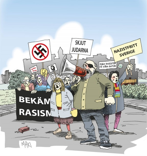 "Socialdemokraterna, antisemitismen och ""the usual suspects"""