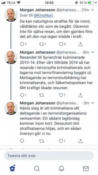 """Justitieministern sjösätter """"Operation Mörkläggning"""""""