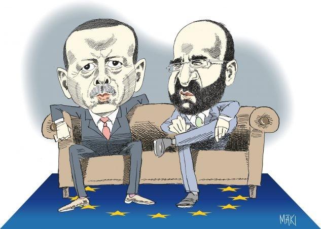 Vad gjorde Mehmet Kaplan i Turkiet under migrationskrisen hösten 2015?