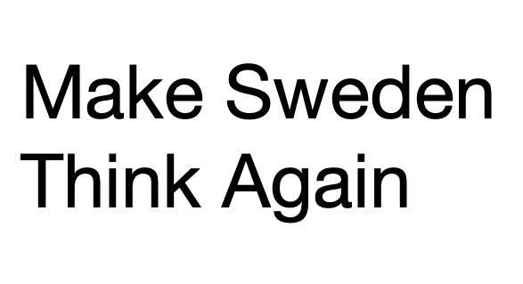 Utrikesminister Margot Wallström skall hållas långt borta från medias syltburk