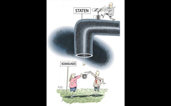 Kostnaderna för socialbidrag skenar - Flera kommuner i fritt fall