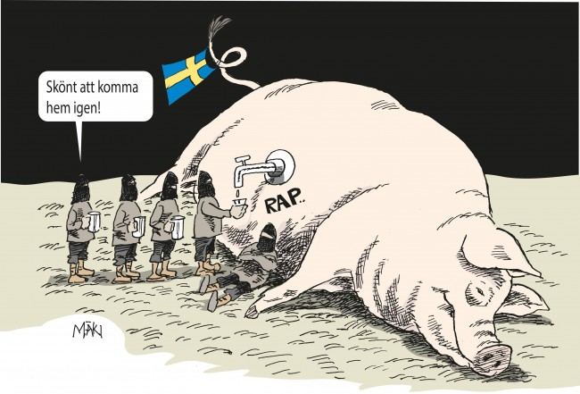Dödsdomarna i Marocko mot IS-bödlarna - Sverige än mer attraktivt som fristad för terrorister