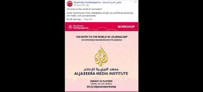 Del tio - Muslimska Brödraskapets etablering i media
