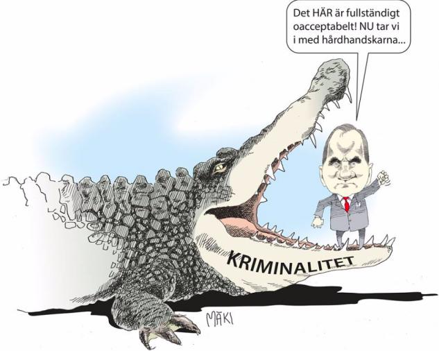 Systemfel i regeringen Löfven - Trenderna i kriminaliteten kända sedan länge