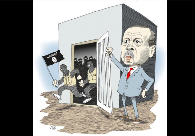 Islamiska statens finansiella struktur obruten med Erdogans tysta stöd