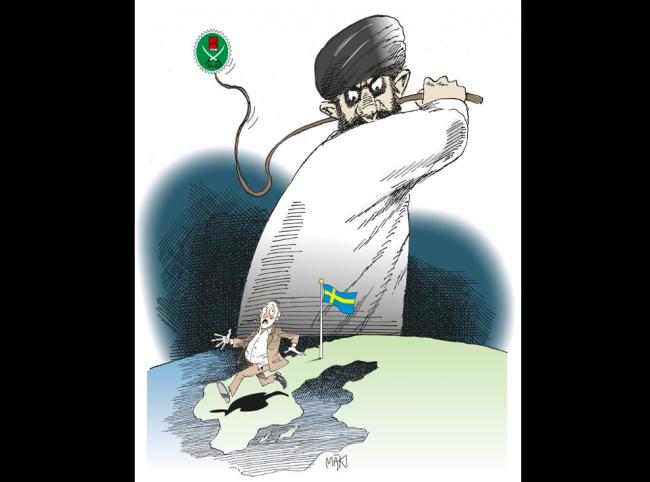 SvD i allians med Muslimska Brödraskapet i Sverige