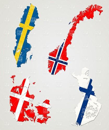 Sverige: 96 döda. Finland: Fyra. Danmark: Noll. Norge: Noll