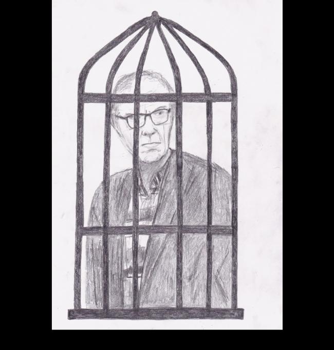 Lars Vilks tvingas att avtjäna förövarnas straff