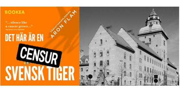 """Stockholms tingsrätt prövar beslaget av Aron Flams """"Det här är en svensk tiger"""""""