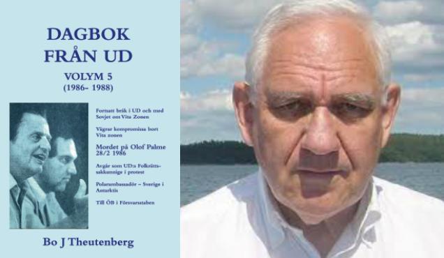 Bo Theutenbergs dagböcker från UD lägger grunden för fortsatt historiebeskrivning