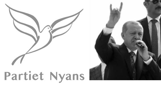 Partiet Nyans allt tydligare en del av det turkisk-islamistiska klustret