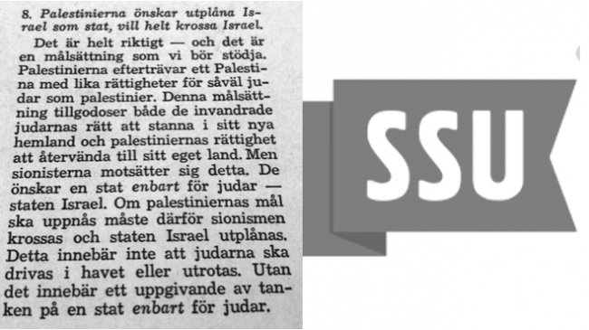 Så formades socialdemokraternas anti-israeliska politik