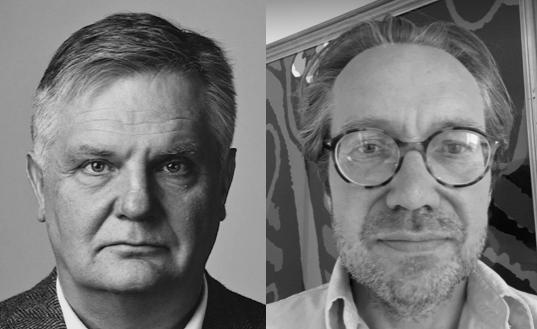 Johan Westerholm samtalar med Henrik Rönnqvist