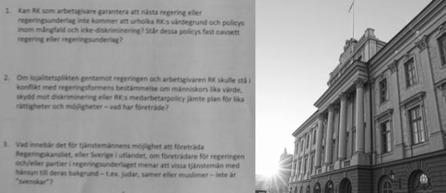 """Oro på Utrikesdepartementet: """"261-listan"""" inte färdigbelönade"""
