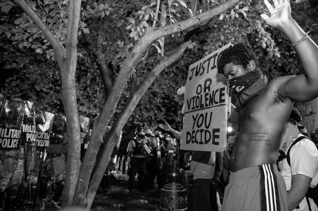 USA: BLM-rörelsen tappar stöd över partigränserna